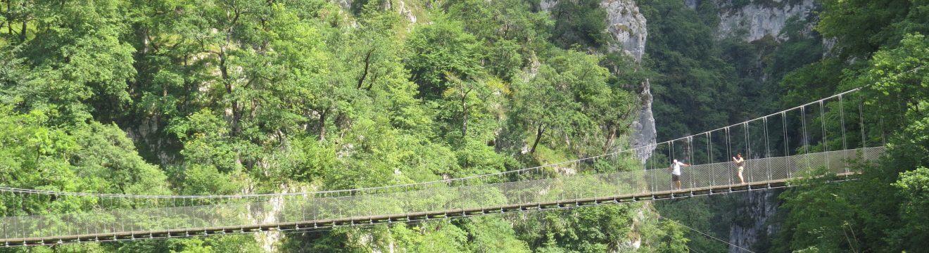 Le pont d'Holzarte