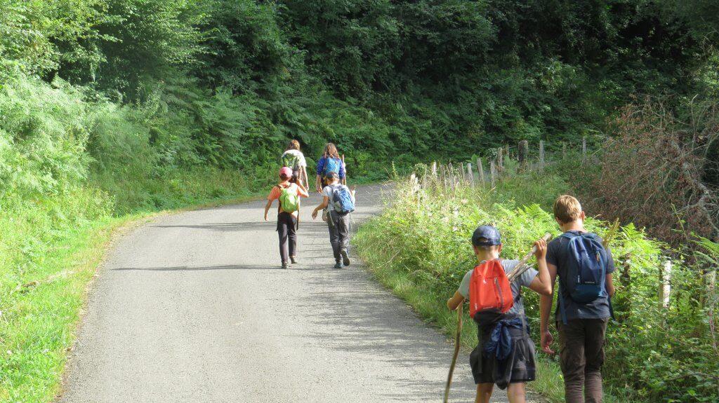 séjour itinérant pédestre en Soule pays Basque