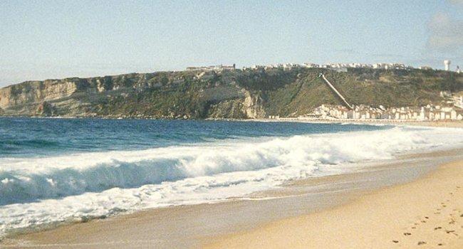 les plages de Nazaré