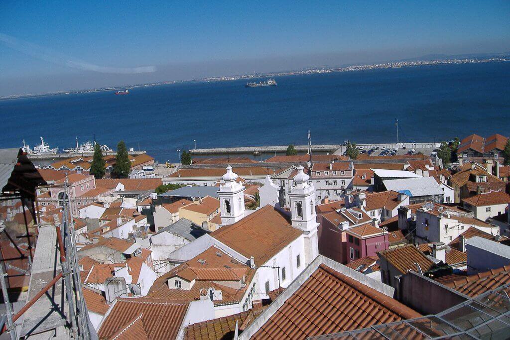 des vues imprenables de Lisboa