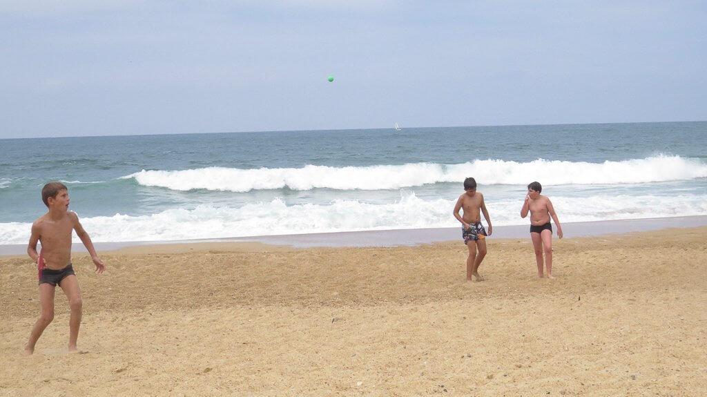 aller se baigner à la plage
