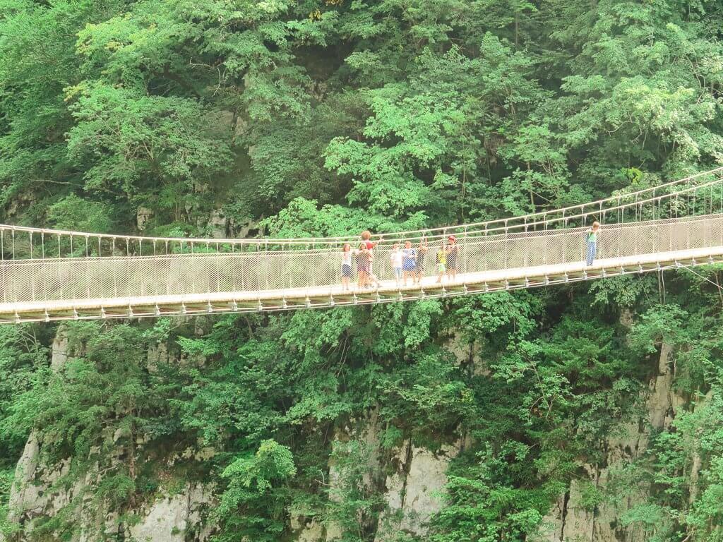 séjour aventure en Soule le pont d'Holzarte