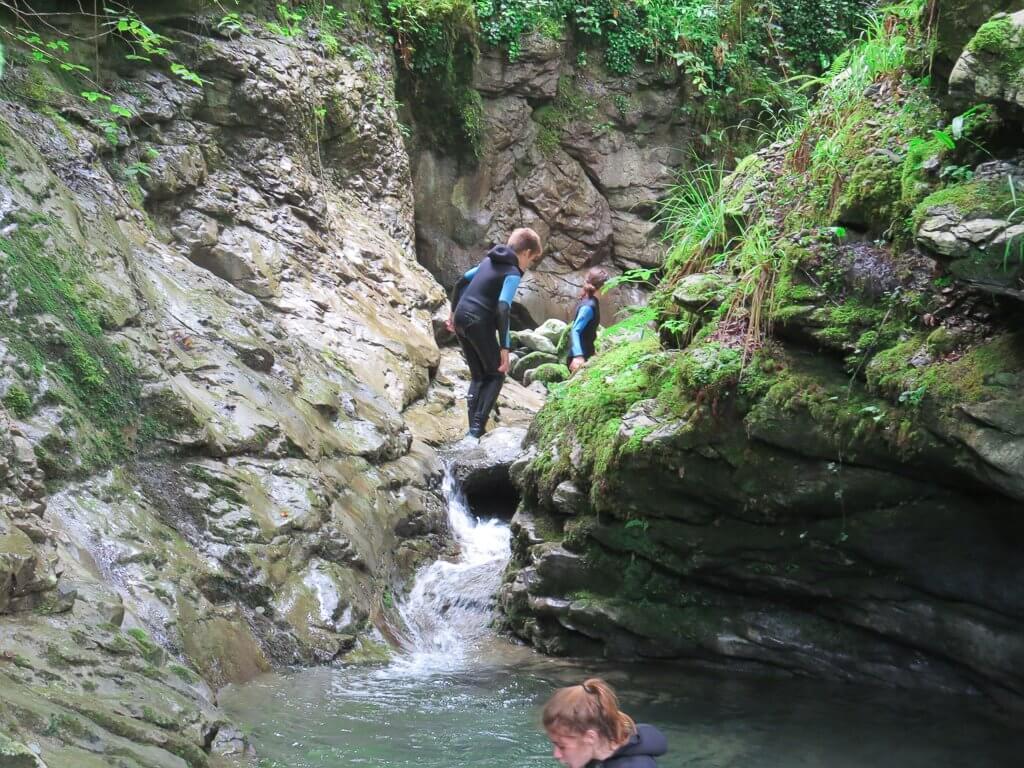 le canyon Pista en Soule