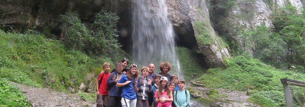 la cascade des gorges de Kakuetta