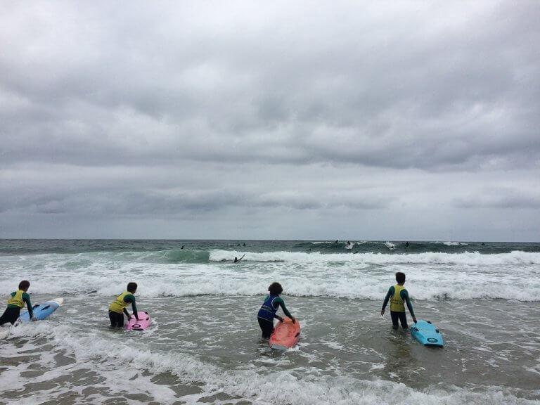 appréhender les vagues de l'océan