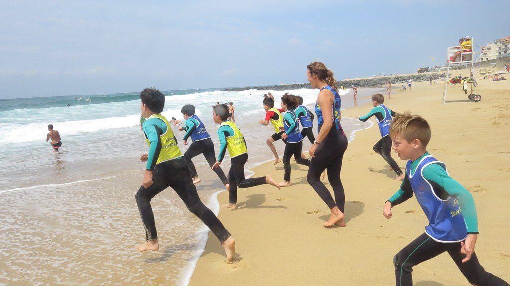 l'activité sauvetage-côtier sur les plages de capbreton