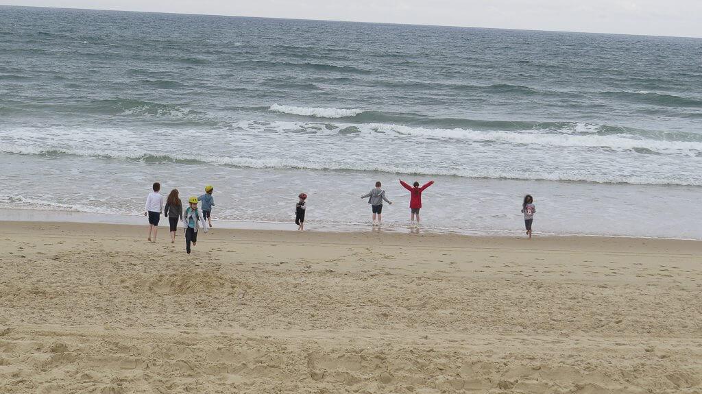 s'amuser sur les plages de sables fins