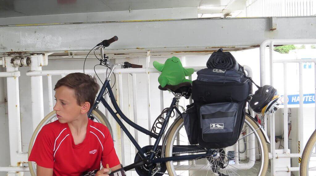 l'équipement du périple du séjour vélodyssée