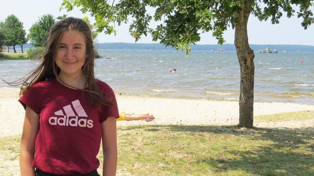 les sorties à la plage et les baignades
