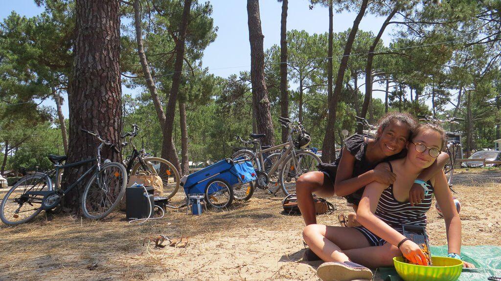 de jolies rencontres sur le séjours vélodyssée