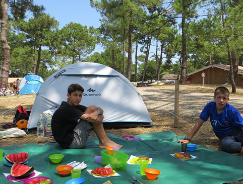 le camping au soleil vélodyssée 2