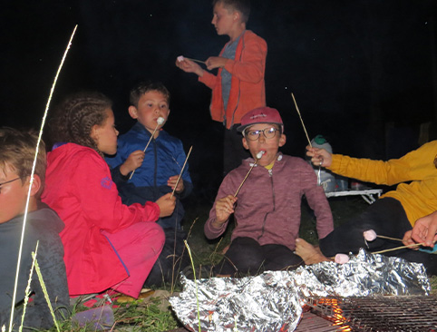 feu de camp au coin gascon séjour BONZAI