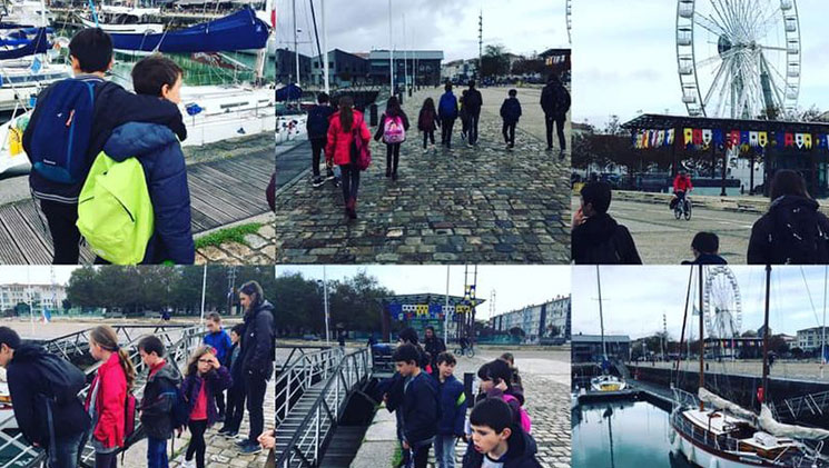 découvrir La Rochelle et son aquarium le vieux port