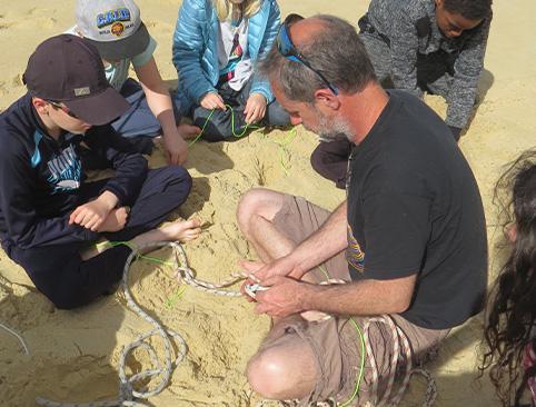 découvrir le monde marin et les noeuds marins