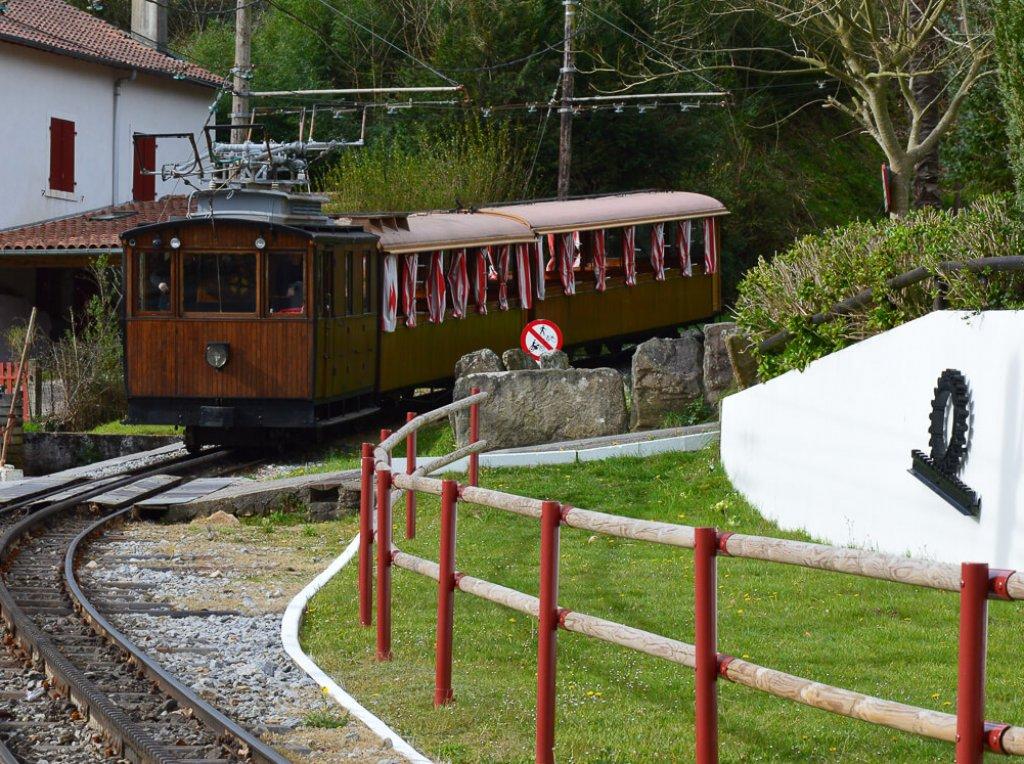 séjour Pays basque le petit train de la Rhune