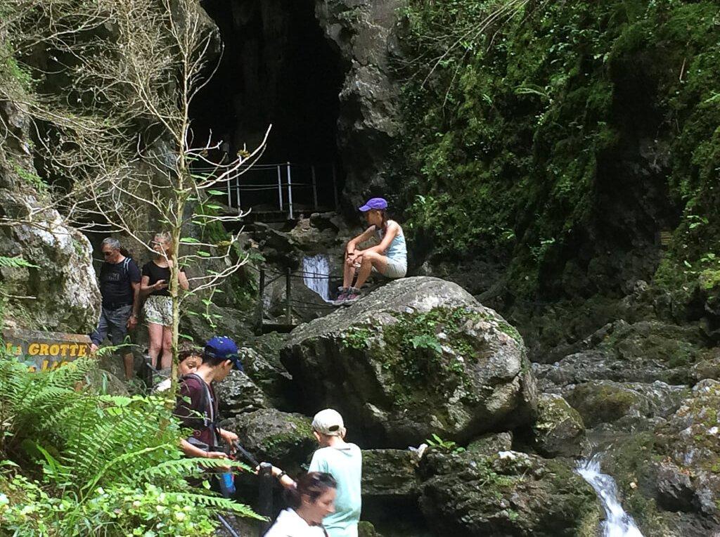 séjour Pays basque la grotte des Gorges de Kakuetta