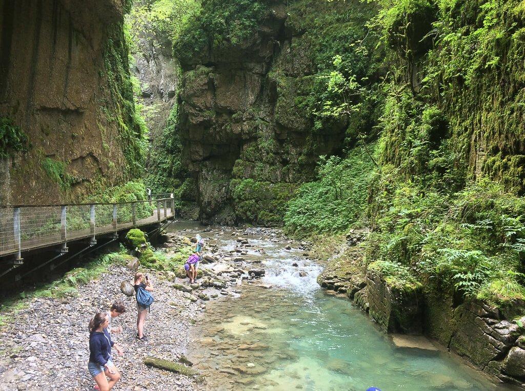 séjour Pays basque les Gorges de Kakuetta