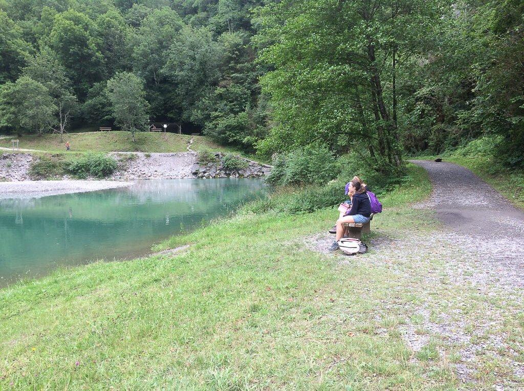 séjour Pays basque lac Gorges de Kakuetta